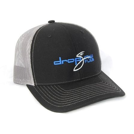 Drop Jaw Black Hat Grey Mesh