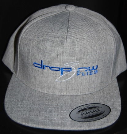 Drop Jaw Grey Snap Back Flat Bill